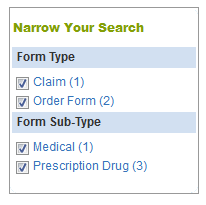 form finder search
